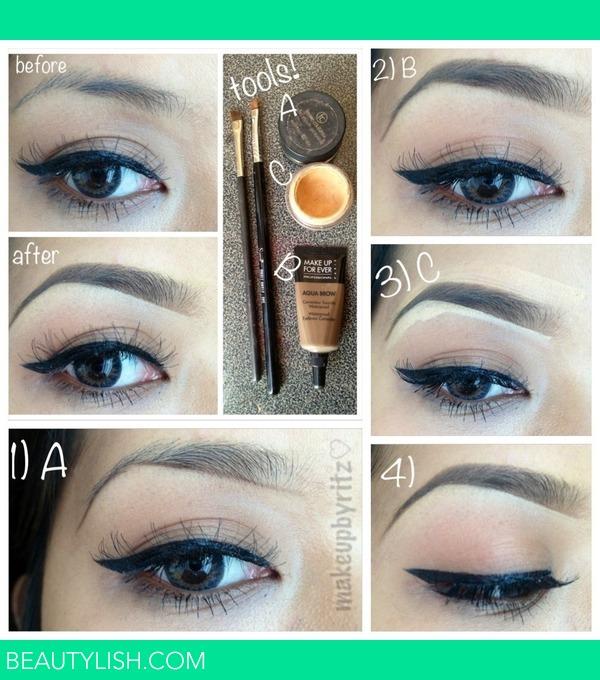 Updated Eyebrow Pictorial Ritz Os Photo Beautylish