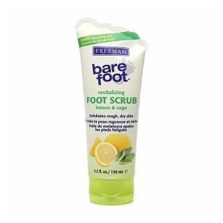 Freeman Bare Foot Revitalizing Foot Scrub - Lemon & Sage