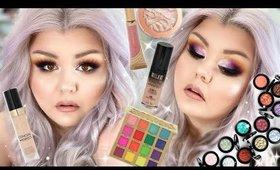 First Impressions + Old Faves Makeup Tutorial 🔮☀️ Smokey Sunset Eyes