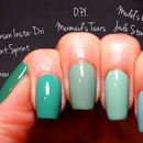 Turquoise Swatches