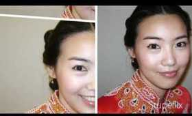 Wedding makeup by E.J