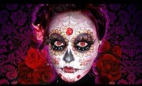 Dia De Los Muertos | Day Of The Dead Sugar Skull Makeup