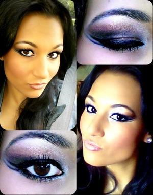 Kim Kardashian Inspired Double Winged Eyeliner!
