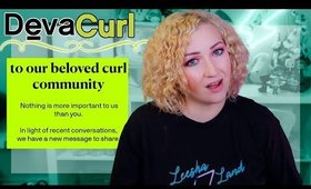 DevaCurl FINALLY Responds to Hair Loss Backlash.. and they basically DON'T CARE.