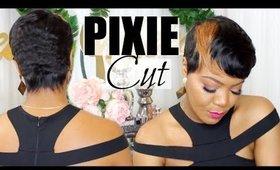 Pixie Cut | Blonde Streak