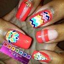 Festival Princess Nails
