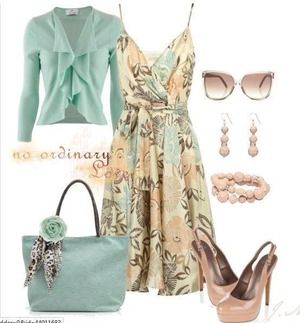 Love this sun dress they colors are beautiful pastels are in