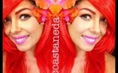 The Little Mermaid Makeup Tutorial x2