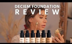 DECIEM - the ordinary colours serum foundation coverage foundation review