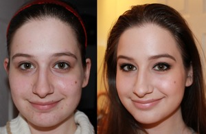 Another Before and After pic :-) Pretty scary haha.