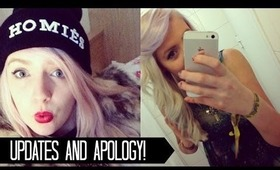 Updates and Apology!