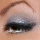 Blue Gray Stardust Eye