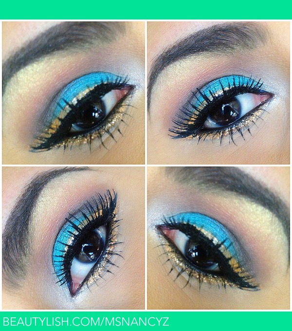Turquoise And Gold Eye Nancy Zs Msnancyz Photo Beautylish