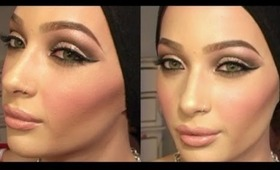 Get Ready With Me For Work @ *Sephora*   Dramatic Smokey Eyes + Lips