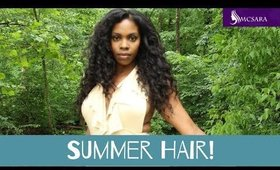 U-Part Wigs Are Perfect for the Summer! MCSARA HAIR review