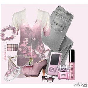 This is cute pink an grey love it