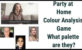 Let's Play a Party at Home Colour Analysis Game - What Palette Are They?