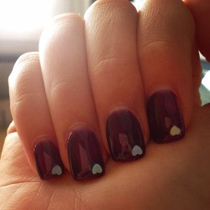 My actual nails