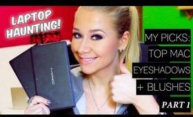Favorite MAC Eyeshadows + Blushes!