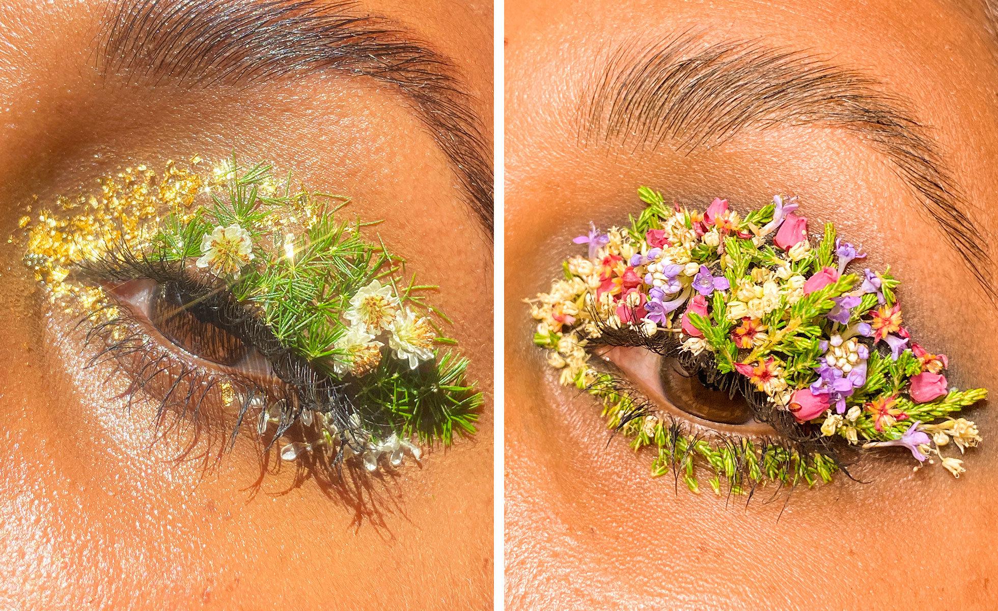 Photo: Lavanya Wiles | Fynbos flower eye looks