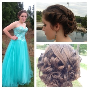 Updo for prom 2013