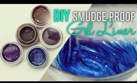 DIY Smudge Proof Gel Liner
