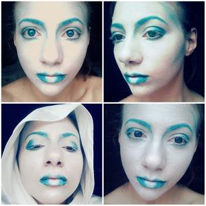 a ice queen makeup look