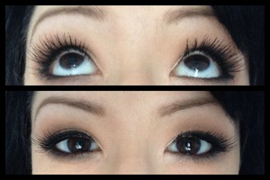 First time using lashes!
