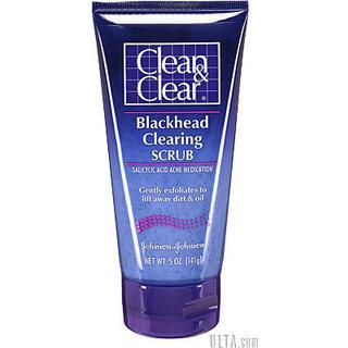 Johnson & Johnson Blackhead Clearing Scrub