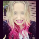 pink hair! inspiration: Perrie Edwards