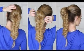 How to: Fishtail Ponytail | Hair Tutorial for Beginners