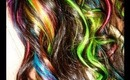 My Rainbow Hair & How I Style It!!