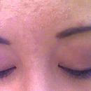 Pink/purple Smokey eye closed