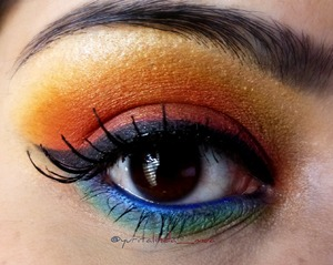 Inspired by another amazing MUA.