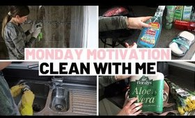 MONDAY CLEANING MOTIVATION WHEN YOU'RE STUCK AT HOME + B&M HAUL!