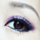 Summer eye look Violet× Somkey eye