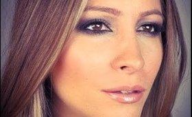 JLo Inspired Makeup.