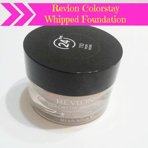Full Review on the blog http://www.hairsprayandhighheels.net/2013/02/revlon-colorstay-foundation-whipped.html