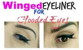 "Winged Eyeliner For Hooded Creased Lids ""UPDATED"""