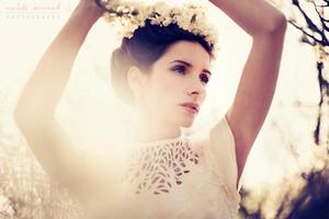 photoshoot Makeup and hair by me Photo:Violeta Minnick/Designer:Carolina DeMaria/Model:Pilar Flores