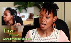 Review Week: PH Balanced Hair Care - Tiiva Naturals Product Review