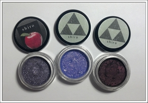 My Shiro shadows came in the mail :) I'm in love! Left to right: Shinigami, Majora's Mask, Ganondorf