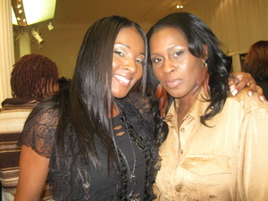 Me and Ateyaa at the Makeup Show 2011