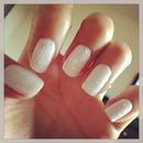 White twinkle fingers