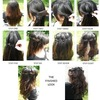 how to:waterfall braid