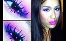 Pink & Purple Eye Makeup Tutorial