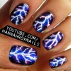 Electric Lightning Nails