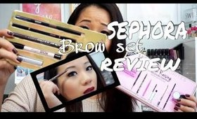 SEPHORA BROW FAV REVIEW & GIVEAWAY