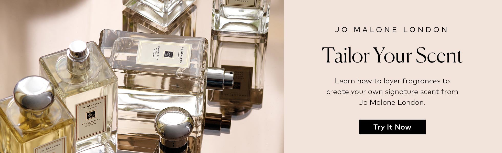 Tailor your scent with fragrance layering – Jo Malone London shows you how.
