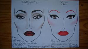 Bellatrix Lestrange and Columbia Makeup Plans